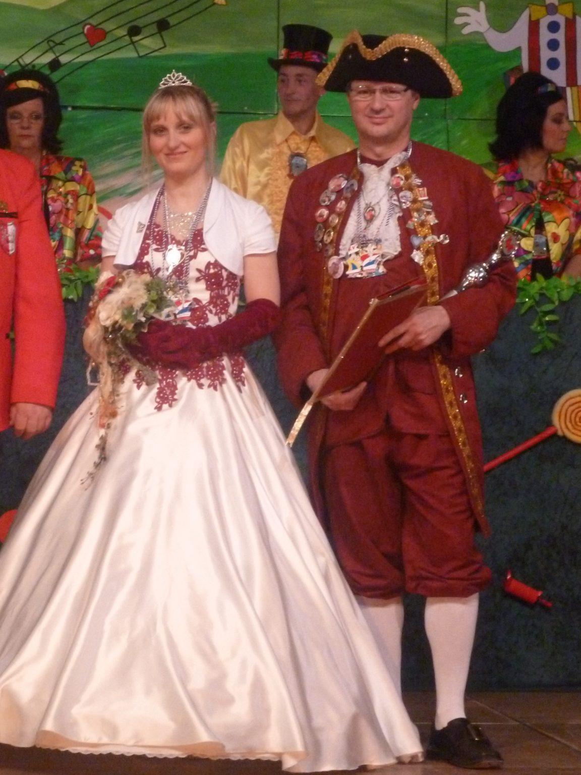 Prinzenpaar Stadtfeld&Grünagel